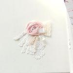 Early Spring Flower brooch (플라워 레이스 브로치)