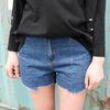 vintage denim short pants2