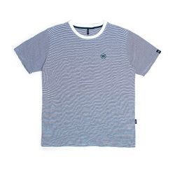 BAF STRIPE HALF SHIRTS (WHITE)