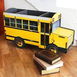 Book Car-school bus or red bus 북 카