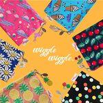 Wiggle Wiggle Pouch (M) (위글위글 파우치 - 미디엄)