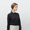 Pearl Button Shirt BK