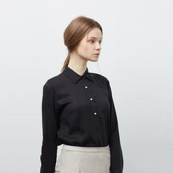 Pearl Button Shirt BK
