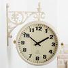 (kjbz492) 심플 아이보리 양면시계 195