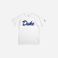 Champion USA Crew Neck T-shirt DUKE white