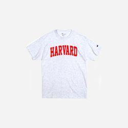 Champion USA Crew Neck T-shirt HARVARD ash