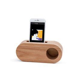 Echo Speaker (Oak Mono)