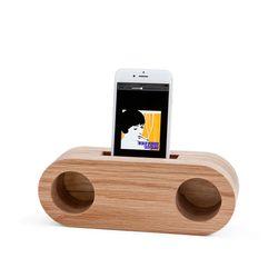 Echo Speaker (Oak Stereo)