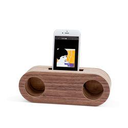 Echo Speaker (Walnut Stereo)