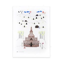Houses of Norway Teatowel 티타올