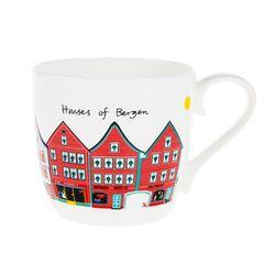 Houses of Bergen 머그컵 (멀티)