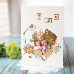 라임 꽃카드 FT222-2