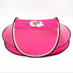 유아용 원터치 휴대용 모기장 대형 핑크 116x70x41