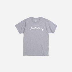 Champion USA Crew Neck T-shirt LOS ANGELES grey