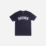 Champion USA Crew Neck T-shirt BROWN navy