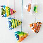 나만의 물고기 인형 만들기 (그리기인형)