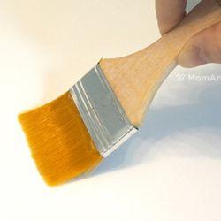 [맘아트] 넓은 납작붓(백붓) 4.5cm