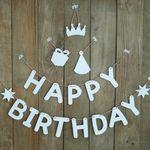 생일축하 가랜드 만들기 세트 (미술재료)