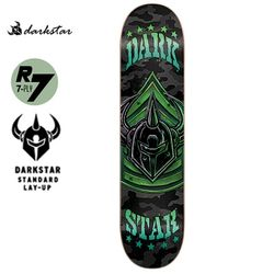 [DARKSTAR] MILITANT GREEN SL DECK 31.7 x 8.25