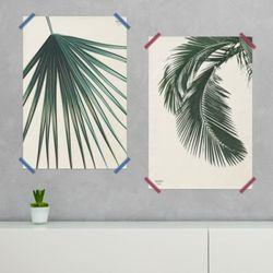 보테니컬 패브릭 포스터.식물포스터(라지사이즈)