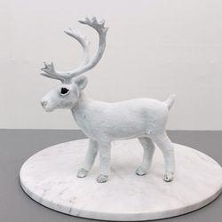 White Animal 장식인형-Deer(대)