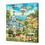 [명화그리기]4050 신비로운 마을 23색 정물화