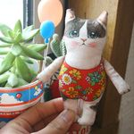 고양이삼촌 DIY인형패키지 - 밀크(13cm)