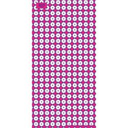 [알록 양모타올]수막새 핑크