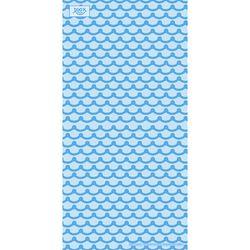 [알록 양모타올]기와 블루