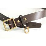 sb02 leather belt [brown]