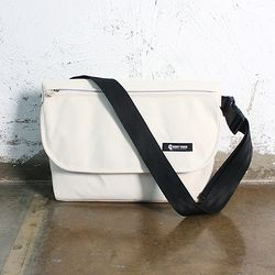 허니브레인-Creative-wise Messenger Bag(IVORY)