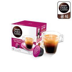 돌체구스토 캡슐 커피 에스프레소 16캡슐