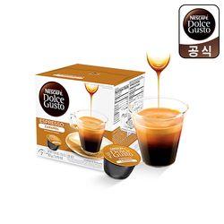 돌체구스토 캡슐 커피 에스프레소 카라멜 16캡슐