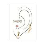 [smooch] Cupid Earring