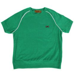 Towel short sleeve crewneck(green)