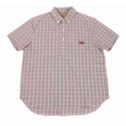 Gingham check shirt(red)