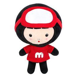 꼬마해녀 몽니 커들 인형(25cm)-레드