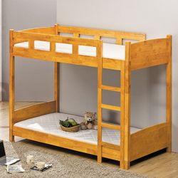 보비쥬S 룬카 싱글 2층 원목 침대+단면매트리스(착불)
