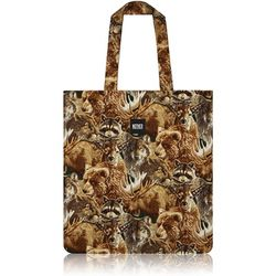 Forest Animals Flat Tote Bag