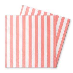 [1만원 이상 구매시 사은품] 핑크 스트라이프 파티냅킨 (20개)