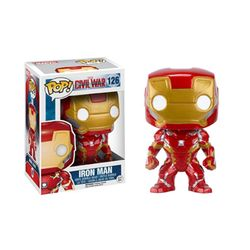 펀코 시빌워 아이언맨 Civil War Iron Man (7224)