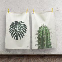 보테니컬 패브릭 포스터 액자. 식물 포스터(라지)