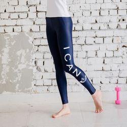 Sports Leggings 여성 스포츠 레깅스 -SD NavyWhite
