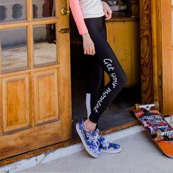 Sports Leggings 여성 스포츠 레깅스 -OD BlackWhite