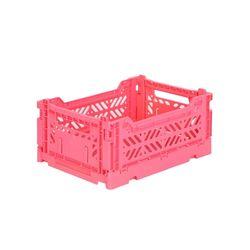 아이카사 폴딩박스 S hot pink