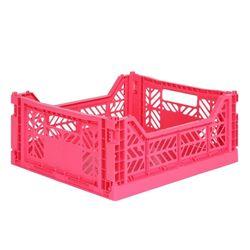 아이카사 폴딩박스 M hot pink