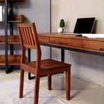 밸런스가구 피카 멀바우 원목 철재 책상 1800