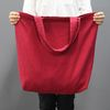 LINEN ECO BAG - L - RED