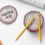 로켓디자인 사무 오피스 용품 메모지 연필 지우개세트
