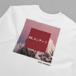 pink replay campaign half tee